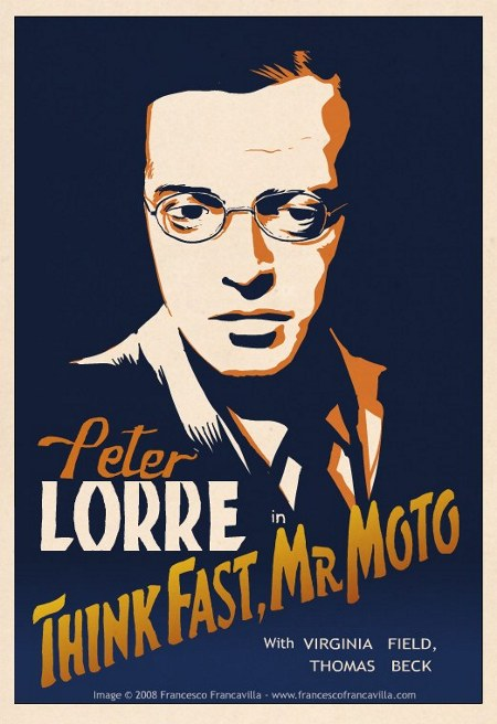 Peter Lorre in Think Fast, Mr Moto